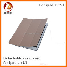 smart cover design with transparent back case for ipad air 2