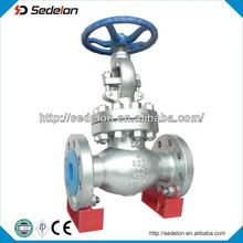 Globe Valve Duplex Steel Full bore/Bolted Bonnet/OS&Y/Gear Operated