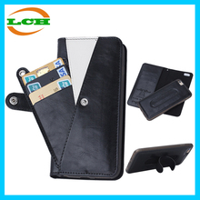 New arrival Magnetic sparable leather wallet case for iphone 6 / 6s / 6 plus / 6s plus