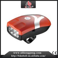 2015 Hot Sale Flashlights Front Headlight LEDs Battery mini led bike light red