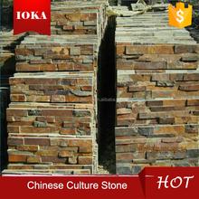 beautiful wall decoration high qualiy culture slate stone