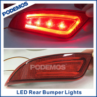 PODEMOS Camry V55 car styling led lights rear led brake light rear led tail lamp for new Toyota Camry 2015