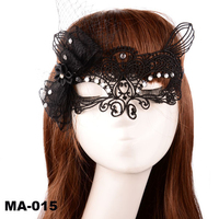 Sexy female mask/lace party mask/cheap party face lace mask
