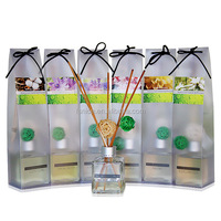 buy wholesale direct from china reed diffuser glass bottle/reed diffuser with rattan sticks