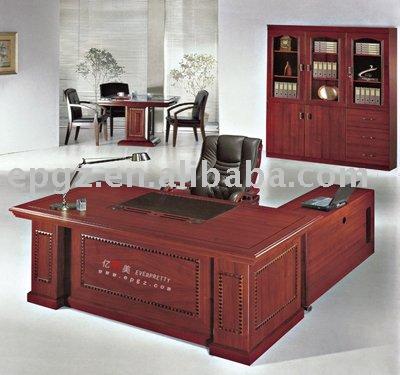 Modular mesa / escritorio, muebles de oficina, madera escritorio ejecutivo