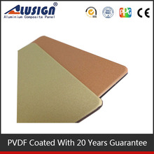 Alusign cheap and high quality caravan aluminium wall cladding modern exterior wall cladding building materials