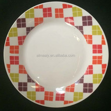 factory directly sale colorful ceramic mosaic plate