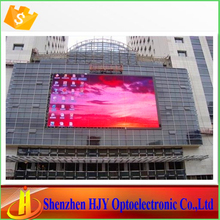 High brightness p10 outdoor full color led edit software