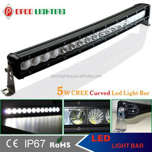 Promotion Price! 120W Led Light Bar for Car Accessories, Single Row 120W Led Light Bar
