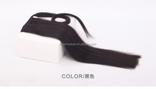 Hot selling human hair ponytail claw clip ponytail human hair ponytail