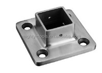 handrail base plate cover/steel square post base plate SC-HR-9507