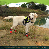 Lovoyager durable waterproof nylon dog hiking boots