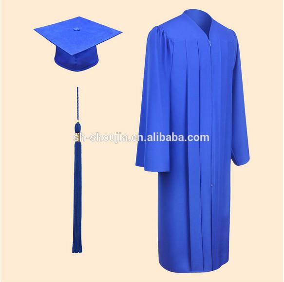 Blue Bachelor Graduation Robe Ba Graduation Gowns Bachelor ...