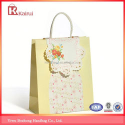 Great durability factory supply jewelry paper shopping bags