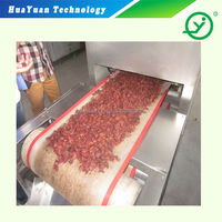 Industrial Microwave Dryer / Microwave Drying Machine / Sterilizing Machine For Beef Snack