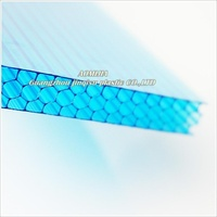 Aomijia guangzhou 100% lexan material polycarbonate holllow sheet for roofing