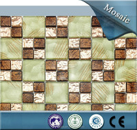 Foshan good quality and nice mosaic tile for wall decoration, good for kitchen wall,living room wall mosaic tile