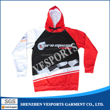 Wholesale design your own long sleeves custom hoodies custom sublimation hoodie from manufacturer