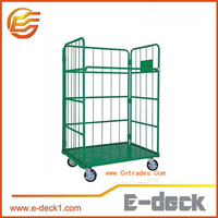 E-Deck foldable warehouse handing equipment roll storage system roll container