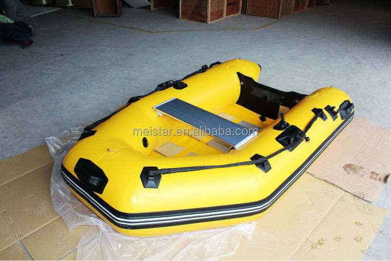 Inflatable Aluminium Motor Boat /inflatable Boat(PVC )/high quality fishing boat