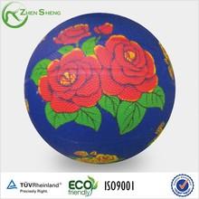 Zhensheng Colorful Design Mini Official Size Rubber Basketball