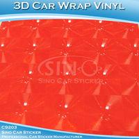 SINO CAR STICKERS 1.52*30M 5*98FT 3D Cat Eye model car stickers