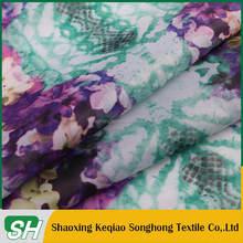 210T taffeta hot transfer print fabric 100% polyester flower design for children clothes