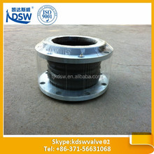 Double sphere rubber joint