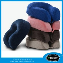 New Patent design memory foam folding travel neck pillow