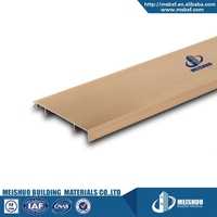 Home decorative material aluminum alloy water proof skirting board