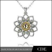 Bijuteria 2015 Jewelery Fashionable Flower Pendant P0197B