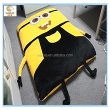 Tatami mat bed / Cute cartoon minion bed / Tatami minions / Minion slapen bed picture