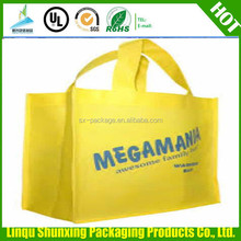 custom print zipper bag/carrefour shopping bag/non-woven bag