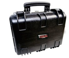 Wholesale waterproof hard ABS plastic carry case/tool box with EVA foam insert No(382718)