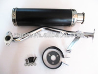 reasonable price scooter 2 stroke GY6 125cc motorcycle exhaust muffler