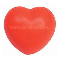 PU Love heart toy education anti stress reliever foam balls