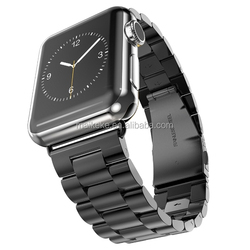 Stainless steel armband for apple watch band adapter, perfectly fit for apple watch folding clasp wrist bands
