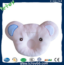 Infant newborn soft bedding head support cushion cotton baby positioning pillow