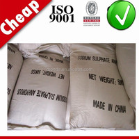 Choose verified suppliers sodium sulphate food grade
