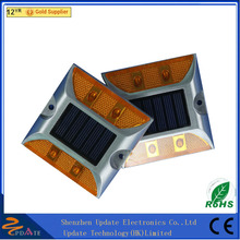 High Brightness IP68 Waterproof Garden Cat Eye Dock Deck Solar Road Stud Led Light Bar Off Road