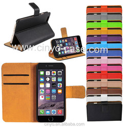 for iphone 6 wallet case with cards slots holder, hot new mobile products for 2016, for iphone 6 plus wallet case