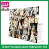 bright color printed paper shopping bag for gifts