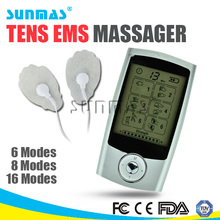 Sunmas HOT home use medical equipment, 2ch tens unit, home health care supplies
