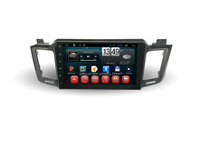 Car dvd for full touch screen with android 4.4 system for RAV4+dual core +10.1 inch+OEM