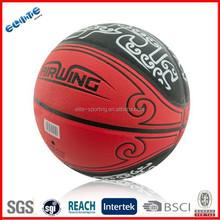Laminated PU best basketball ball on sale