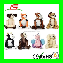 Wholesale Children School Bag Cartoon Animal Backpack Plush Baby Travel Bag