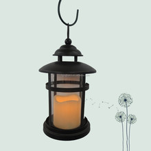 India battery powered led moroccan hanging hurricane candle lantern