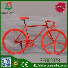 High quality light weight fixed gear bike,5 spokes fixed gear bicycle