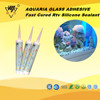 waterproof silicone sealant with acetic curing for glass windows /fishbowl