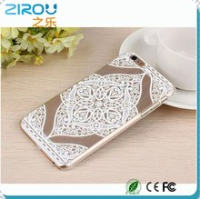 3D Color Painting PC Clear Hard Transparent Crystal Folk Style Dreamcatcher Relief Sculpture Case Cover For iPhone